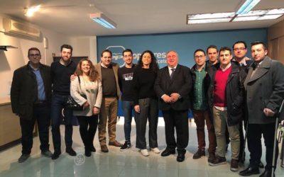 Nuevas Generaciones presente en la Junta Directiva Provincial del Partido Popular de Albacete