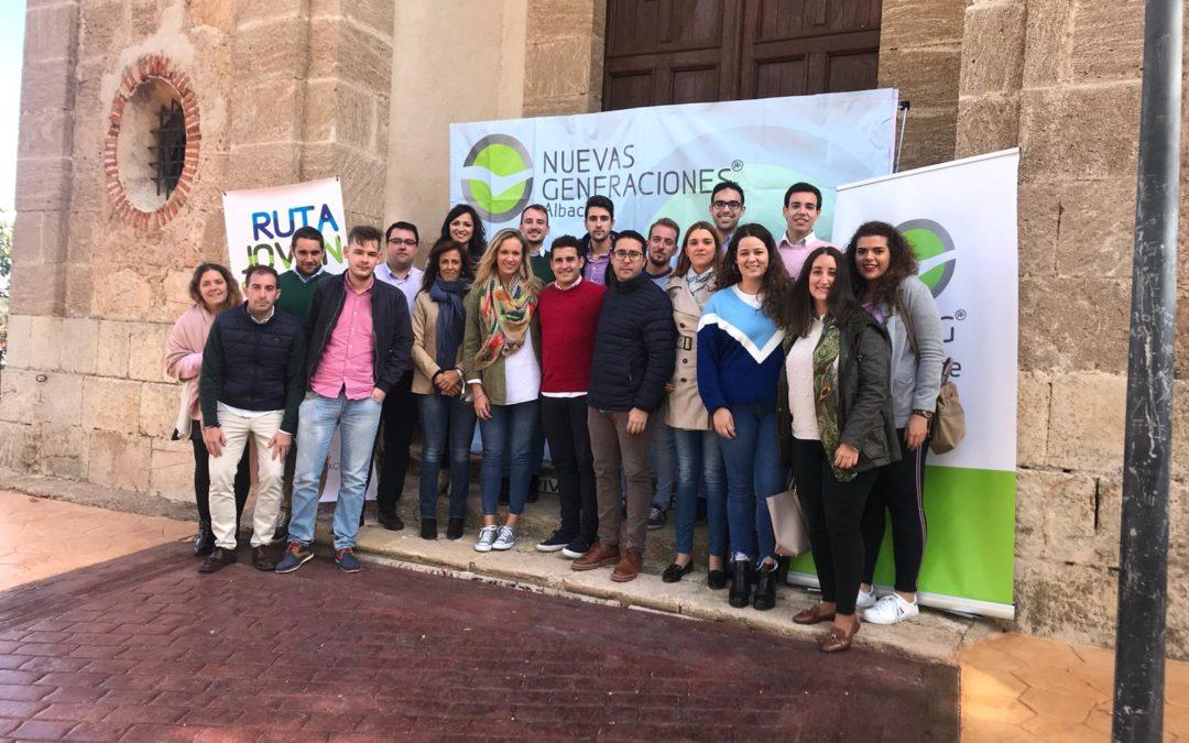 PRESENTACIÓN  DE LA RUTA JOVEN DE NNGG ALBACETE EN EL SANTUARION DEL CRISTO DEL SAHÚCO