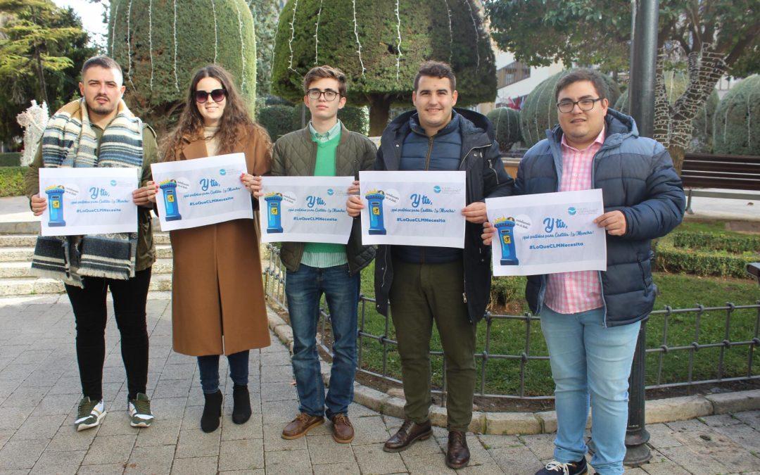 NNGG ALBACETE PRESENTA LA CAMPAÑA «LO QUE CASTILLA-LA MANCHA NECESITA»